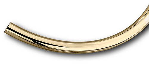 Curved-Brass