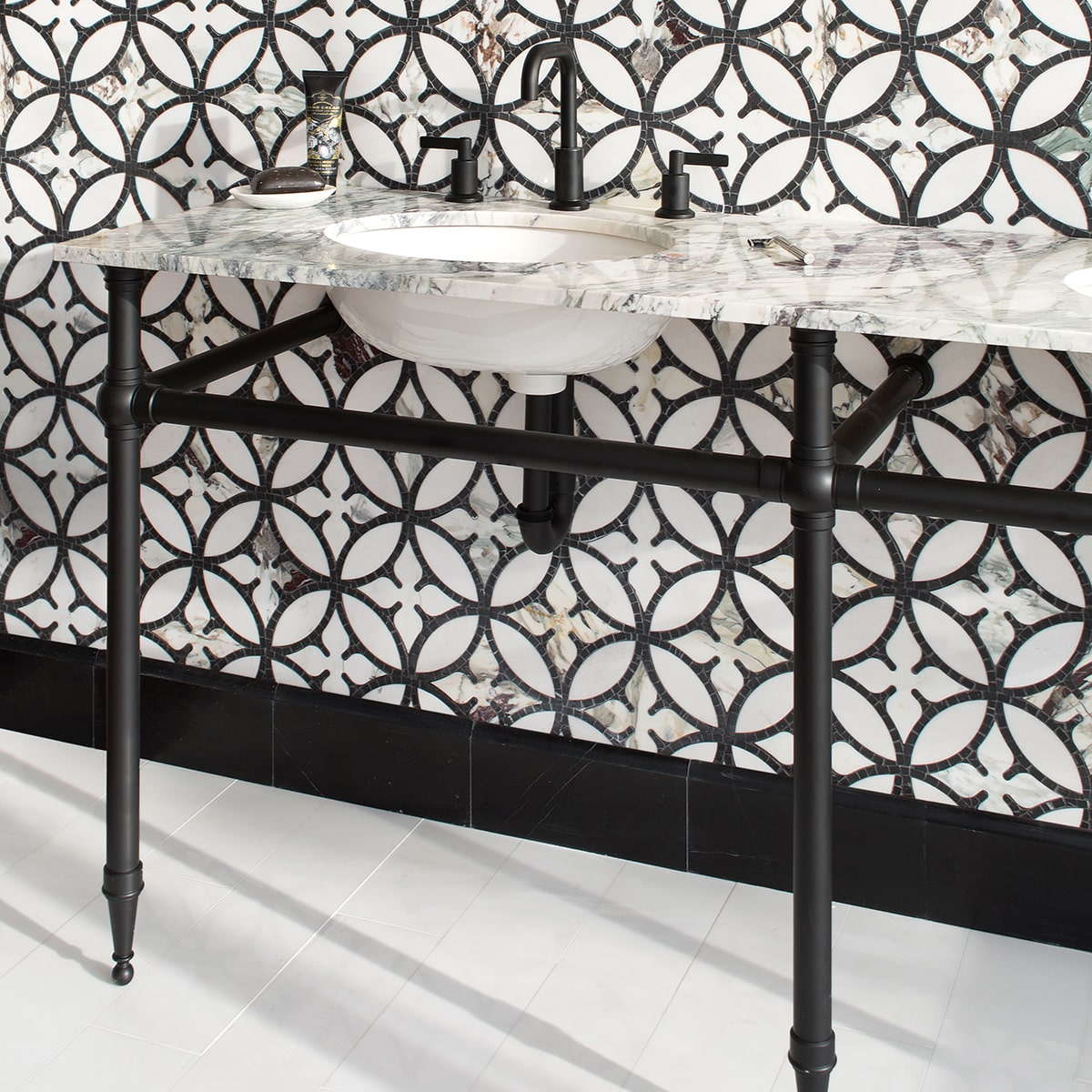 Omar stone mosaic