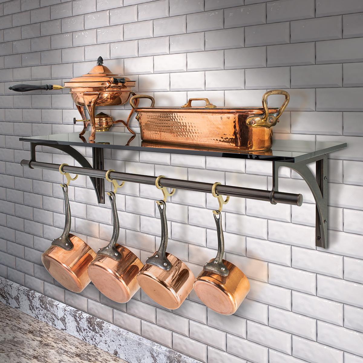 1220-Regency Style Kitchen Shelf