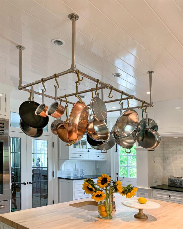 Custom Kitchen Pot Racks | Palmer Industries